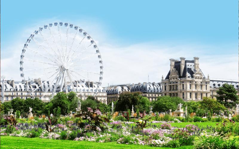 trip with kids to paris